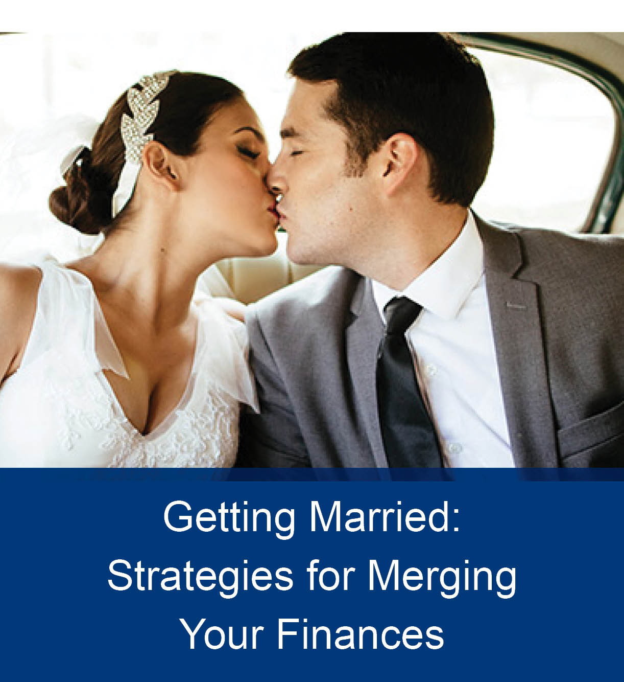 merging finances after wedding