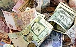 Foreign Currency Exchange Locations A Pile Of Money