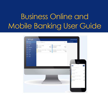 picture of cover of online banking business guide