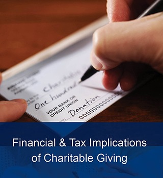 financial and tax implications of charitable giving article image