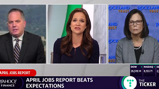 Rachael Aiken on Yahoo Finance in May