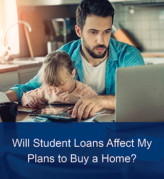 thumbnail image of student loans affecting plans article