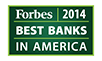Forbes 2014 Best Banks in America