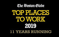 Top places to work 2019, 11 years running, The Boston Globe